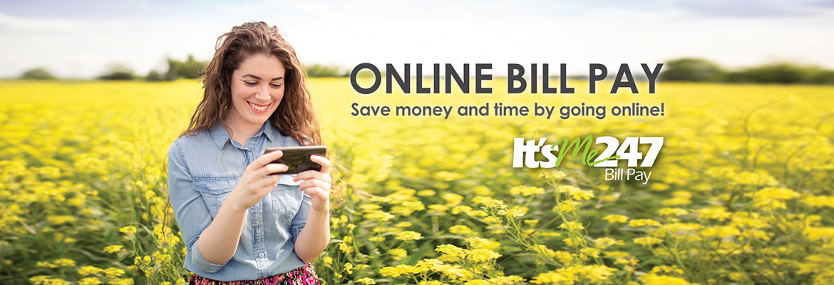 Online Bill Pay - Save Money and Time - banner image