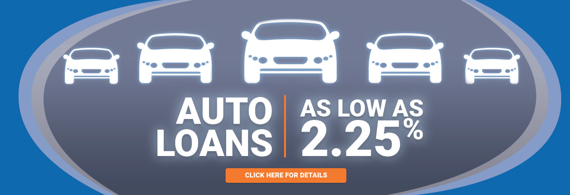 Auto Loans As Low As 2.25%